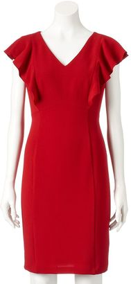 Women's Chaya Ruffle Sheath Dress $116 thestylecure.com