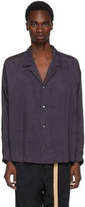 Robert Geller Purple Photographer Shirt