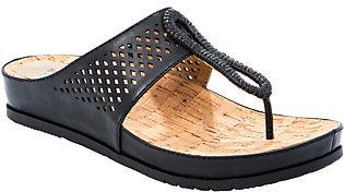 BareTraps Baretraps Perforated Thong Sandals - Chinda $50 thestylecure.com