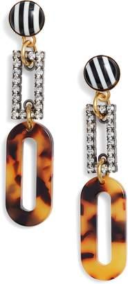 Elizabeth Cole Lily Linear Earrings
