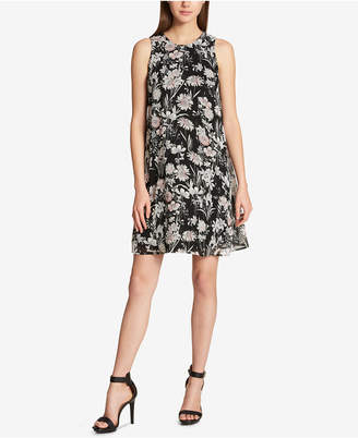 Tommy Hilfiger Floral-Printed Trapeze Dress