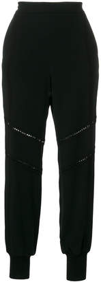 Stella McCartney lace-trimmed Libby joggers