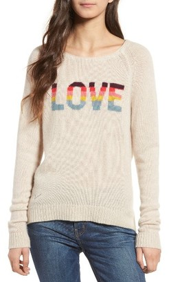 Women's Zadig & Voltaire Baly Bis Cashmere Sweater $398 thestylecure.com