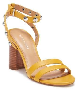 Marc Fisher Lantern Leather Block Heel Sandal