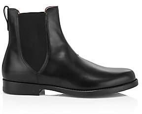 Salvatore Ferragamo Men's Tom Leather Chelsea Boots