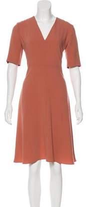 Joseph Short Sleeve Knee-Length Dress