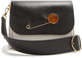 HILLIER BARTLEY Pin-detail leather shoulder bag