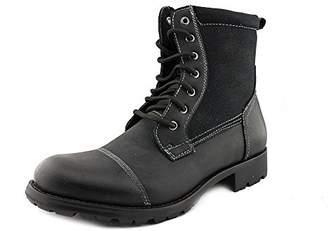 alpine swiss Men's S4120 Combat Boots Lug Sole Canvas Trim Field Shoes