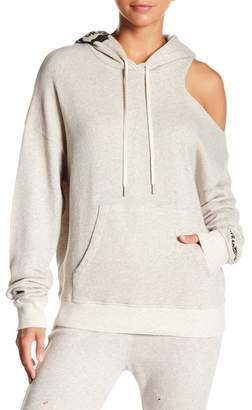 Siwy Denim Mavis Shoulder Cutout Hoodie