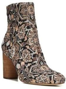 Sam Edelman Corra Textile Block Heel Booties