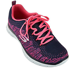 As Is Skechers Flat Knit with Memory Foam Sneakers -Jump $31 thestylecure.com