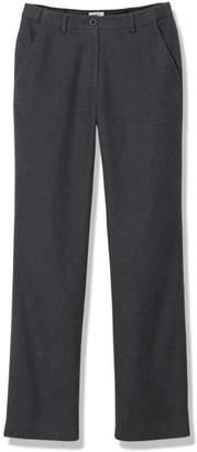 L.L. Bean L.L.Bean Weekend Pants, Hidden Comfort Waist Heathered