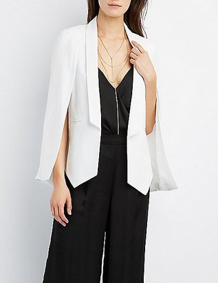 Structured Cape Blazer $34.99 thestylecure.com