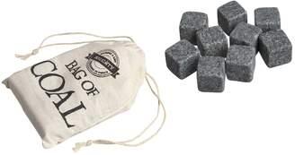 Wembley Christmas Bag Of Coal Whiskey Stones 10-piece Set