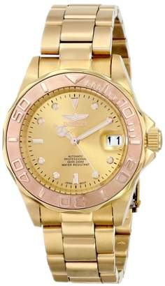 Invicta Men's 13930 Pro Diver 18k Yellow and Rose Ion-Plated Stainless Steel Bracelet Watch