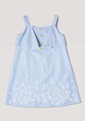 Armani Junior Striped Floral Dress