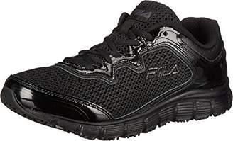 Fila Women's Memory Fresh Start Slip Resistant Work Shoe $26.99 thestylecure.com