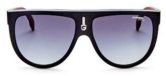 Carrera Men's Flat Top Aviator Sunglasses, 60mm