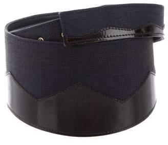 Valentino Woven Waist Belt