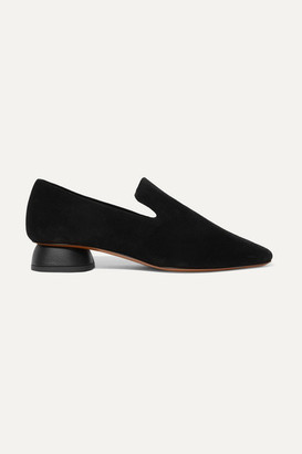 Neous Thop Suede Loafers - Black