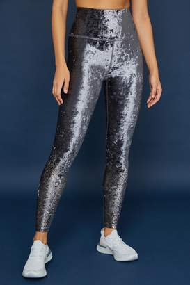 Beyond Yoga Crushed Alloy High Waist Midi Legging