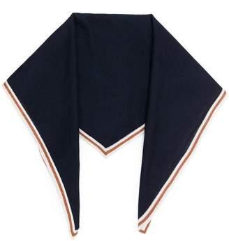 Ermenegildo Zegna trimmed bandana scarf