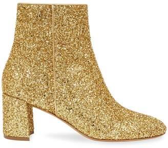 Mansur Gavriel Glitter 65Mm Ankle Boot - Silver