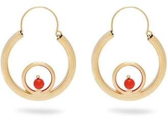 Rosantica By Michela Panero - Passato Circle Hoop Earrings - Womens - Gold
