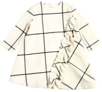 Il Gufo Plaid Flannel Dress