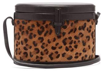 Hunting Season - Trunk Leopard Print Cross Body Bag - Womens - Leopard
