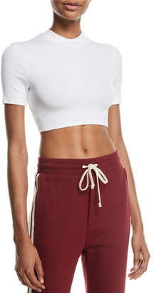 Twenty Mackay Fitted Crewneck Cropped Tee