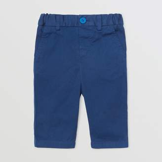Burberry Childrens Cotton Chinos