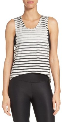 Women's Beyond Yoga Bring It Ombre Muscle Tee $69 thestylecure.com