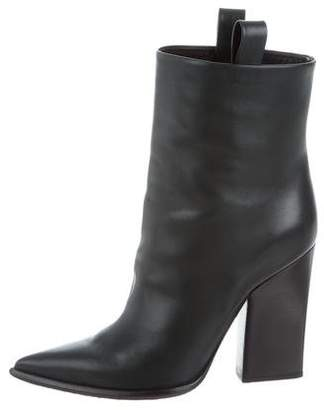 Celine Pointed-Toe Ankle Boots