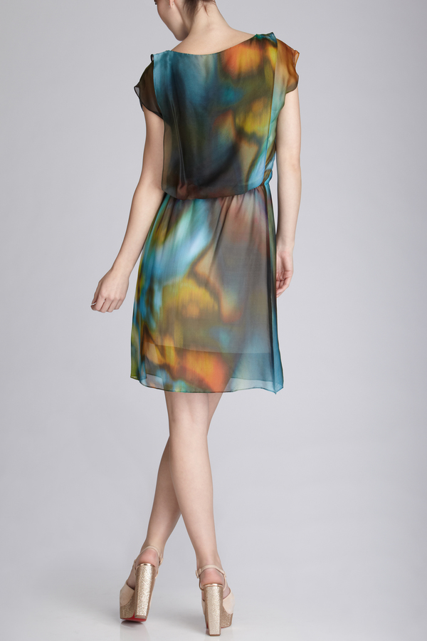 Josie Natori Kameyo Dress