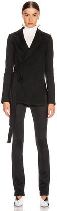 Proenza Schouler Wrap Jacket in Black | FWRD