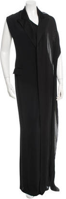 Jean Paul Gaultier One-Shoulder Evening Dress $625 thestylecure.com