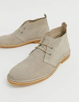 Jack and Jones suede desert boot