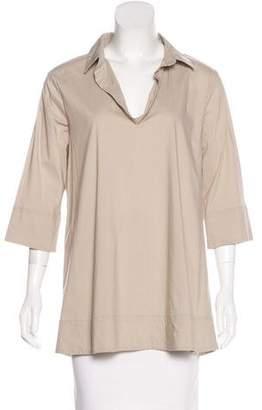 Liviana Conti Short Sleeve V-Neck Top