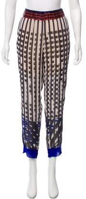 Giada Forte Printed Straight-Leg Pants w/ Tags