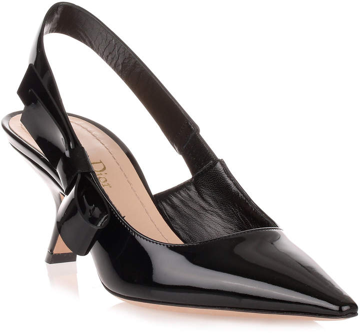 Dior Black patent leather J'adior pump