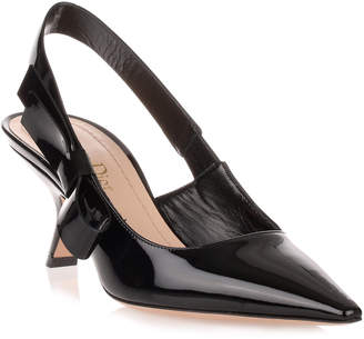 Christian Dior Black patent leather J'adior pump