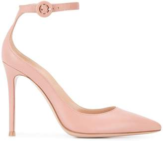 7a45aa590587 Pink Strap Buckle Heels - ShopStyle UK