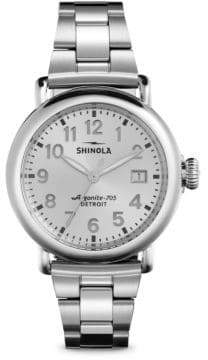 Shinola Runwell Stainless Steel Bracelet Watch