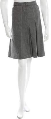Chanel Wool Knee-Length Skirt