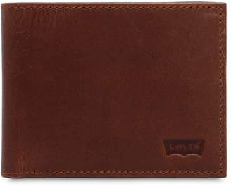 Levi's Logo Leather Wallet