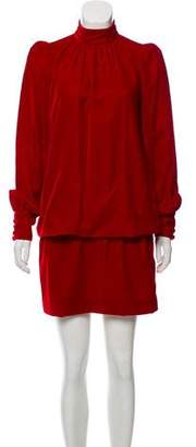 Marc Jacobs Velvet Structured Dress