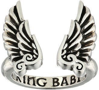 King Baby Studio - Open Ring w/ Wings Ring $170 thestylecure.com