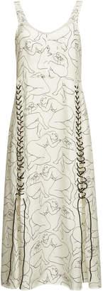 By Malene Birger Printed Dress