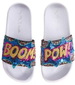 Nina Sabreena2 Sequined Sport Slide